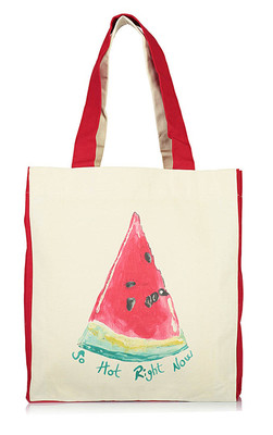 OrganiCraft Karpuz Canvas Tote Bag OC00129
