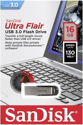 SanDisk Ultra Flair™ USB 3.0 16GB SDCZ73-016G-G46