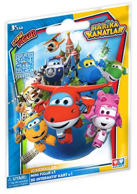 Harika Kanatlar Kartli Mini Figür Paket 150086AUL10900