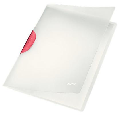 Leitz ColorClip Magic Sıkıştırmalı Dosya Kırmızı