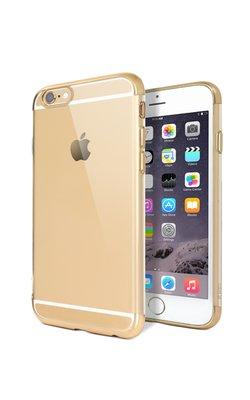 ttec Chrome Clear iPhone 6s ve 6 Altın Sarısı Koruma Kapağı