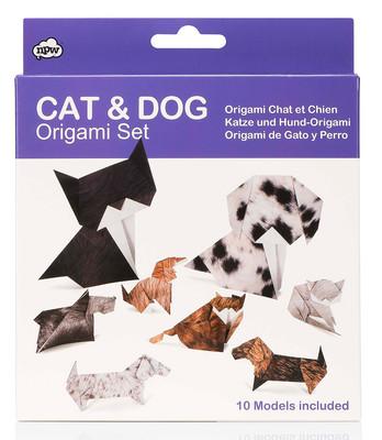 Npw Origami Seti - Kedi ve Köpek Np32024