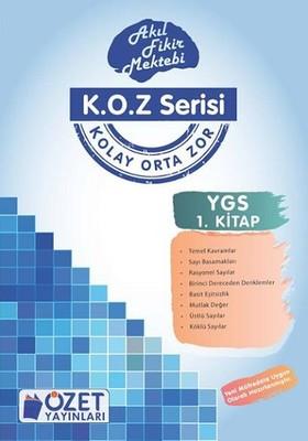 Özet YGS Matematik 1 - K.O.Z Serisi