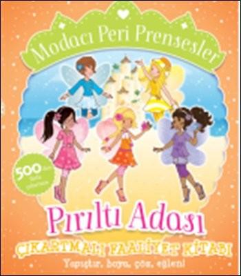 Modacı Peri Prensesler-Pırıltı Adası Çıkartmalı Faaliyet Kitabı