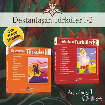 Destanlasan Türküler Arsiv 1 (2 CD)