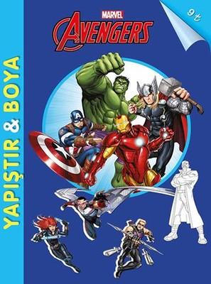 Marvel Avengers-Yapıştır ve Boya