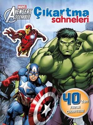 Marvel Avengers Assemble Çıkartma Sahneleri