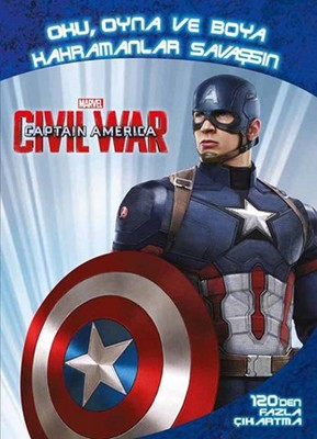 Marvel Captain America Civil War-Oku, Oyna ve Boya Kahramanlar Savaşsın