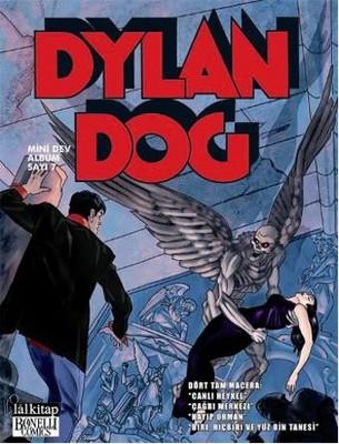 Dylan Dog Mini Dev Albüm 7-Canlı Heykel