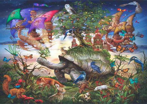 Anatolian Puzzle 1500 Parça Aksam Yürüyüşü 4544