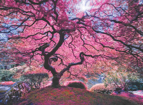 Anatolian Puzzle Pink Tree 1000 Parça 1037