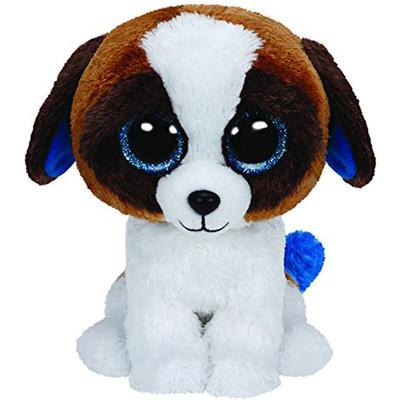 Ty-Pelüs-Duke Brown White Dog Ty37012