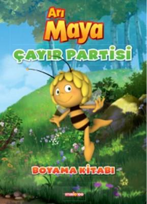 Arı Maya Çayır Partisi Boyama Kitabı