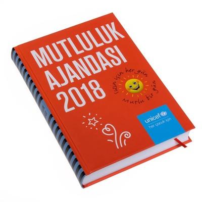 Unicef Ajanda Mutluluk 2018