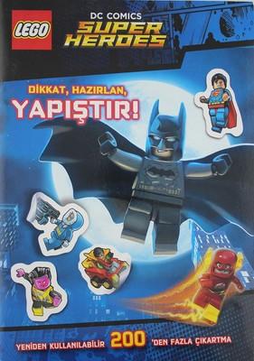 Lego DCS Comics Super Herdes-Dikkat, Hazırlan, Yapıştır!