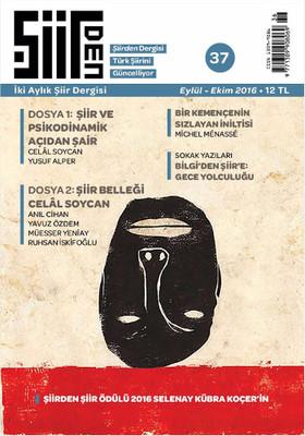 Şiirden İki Aylık Şiir Dergisi - Sayı: 37 Eylül - Ekim  2016