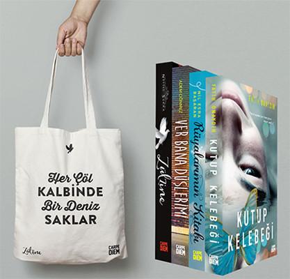 Carpediem Ciltli Romanlar Seti 4 Kitap Takım - Zülzine Çantası Hediyeli