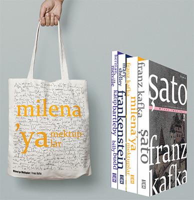 Dünya Edebiyatı Seti 4 Kitap Takım - Milenaya Mektuplar Çantası Hediyeli