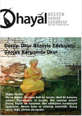 Hayal Kültür Sanat Edebiyat Dergisi Sayı: 59 - Ekim-Kasım-Aralık