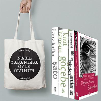 Dünya Edebiyatı Seti 4 Kitap Takım - Nasıl Yaşanırsa Çantası Hediyeli
