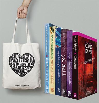 Nazan Bekiroğlu Deneme Seti 6 Kitap Takım - Çanta Hediyeli