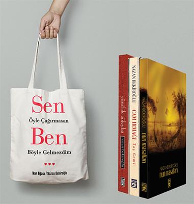 Nazan Bekiroğlu Öykü Seti 3 Kitap Takım - Çanta Hediyeli