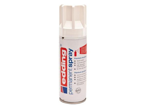 Edding Permanent Spray Traffic White Mat