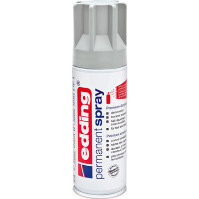 Edding  Permanent Spray Light Grey Mat
