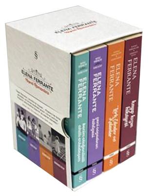 Napoli Romanları Seti - 4 Kitap Takım Kutulu