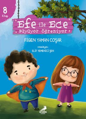 Efe ile Ece Büyüyor Öğreniyor-8 Kitap Takım