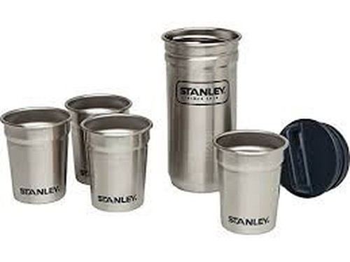 Combo Ss Shot Glass Set Stainless Steel