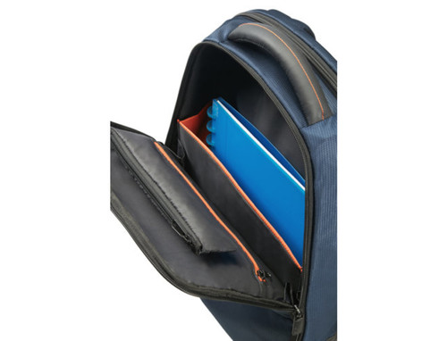 "Samsonite Qibyte 13"" 14"" Mavi Notebook Sırt Çantası"