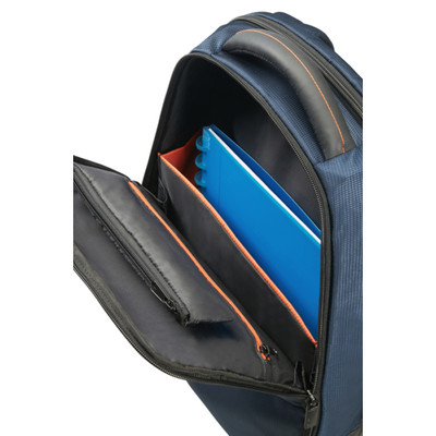 "Samsonite Qibyte 15.6"" Mavi Notebook Sırt Çantası"