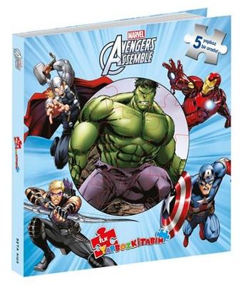 Marvel Avengers Assemble - İlk Yapboz Kitabım