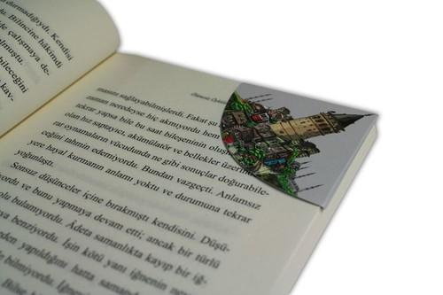 Istisna-Kitap Ayraci Miknatisli Köse