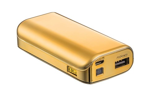 Trust Urban PowerBank 4400 Portable Charger - gold 20901