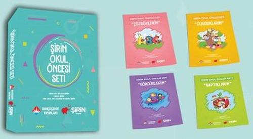 Şirin Okul Öncesi Seti - 5 Kitap Takım Puzzle Poster
