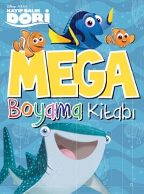 Disney Mega Boyama Kitapları - Kayıp Balık Dori