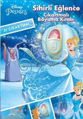 Disney Prenses - Sihirli Eğlence Çıkartmalı Boyama Kitabı