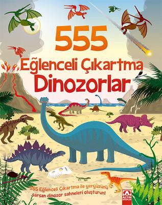 555 Eğlenceli Çıkartma Dinozorlar