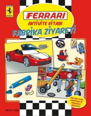 Ferrari Aktivite Kitabı - Fabrika Ziyareti