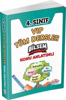 4. Sınıf VIP Tüm Dersler Konu Anlatımlı