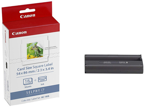 Canon Dsc Ink/Label KC-18IS Sticker Paper