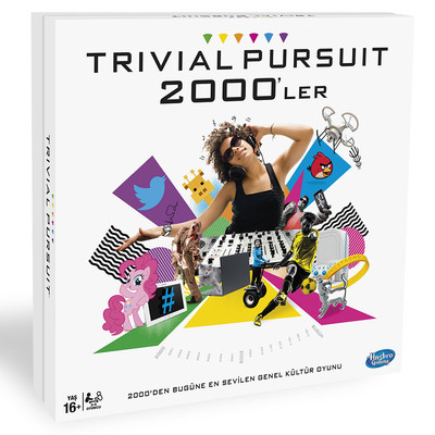 Trival Pursuit 2000s Kutu Oyunu B7388