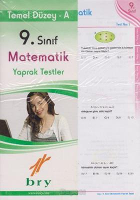 9. Sınıf Matematik Yaprak Testler Temel Düzey A