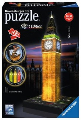 Rav-Puz.3D Big Ben Night 125883