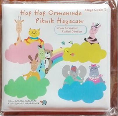 Banyo Kitabı 3-Hop Hop Ormanında Piknik Heyecanı