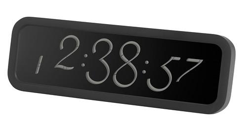 Lexon Script LCD Saat Siyah LR133N