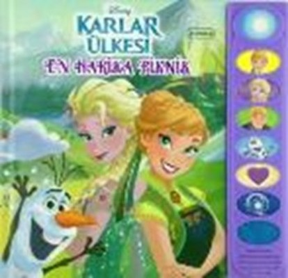 Disney Karlar Ülkesi En Harika Piknik - 8 Düğmeli Sesli Kitap