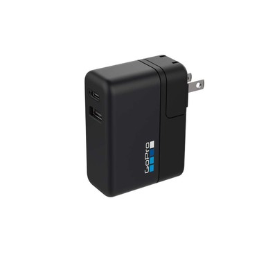 GoPro Supercharger: Sarj Aleti (Çift Çikisli Hizli Sarj) 5GPR/AWALC-002-EU